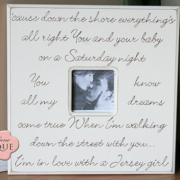 Personalized, Wedding, Picture Frame, 20x20, Engagement,Custom, Made to Order, Love Quote, Song Lyrics, Prairie Boutique,Wedding Vows