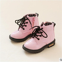 Baby Girls Patent Leather Boots