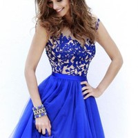 Sherri Hill Short Dress 11171 at Prom Dress Shop