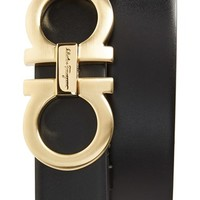Men's Salvatore Ferragamo Reversible Calfskin Belt