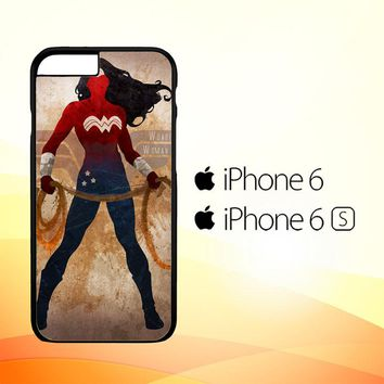 WONDER WOMAN silhouette Y0546 iPhone 6|6S Case