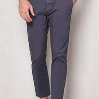 PacSun Skinny Stretch Navy Cropped Chino Pants at PacSun.com
