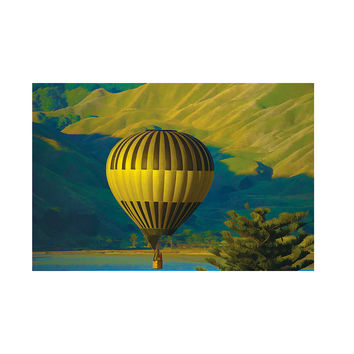 Hot Air Balloon Contestant Painting | Poly Poster Print