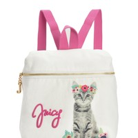 Angel Girls Graphic Canvas Kitten Backpack by Juicy Couture, O/S