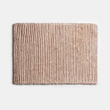 Braided Doormat - Wheat