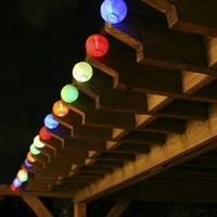 Smart Living Chinese Lanterns 20ct. Solar String Light