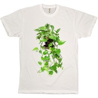 I liked this design on #Fab. Philodendron Plant White Tee