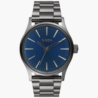 Nixon Sentry 38 Ss Watch Cobalt One Size For Men 25976021701