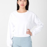 5336 - California Fleece Cropped Sweatshirt