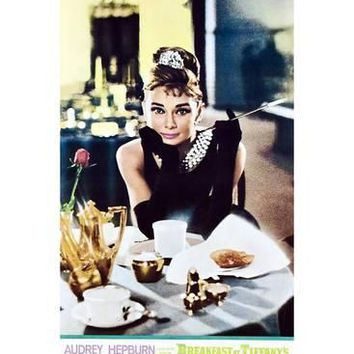 Breakfast at Tiffany's, Audrey Hepburn on Japanese Poster Art, 1961 Giclee Print at Art.com