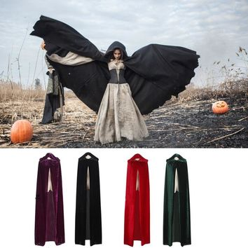 Woman's  Medieval Renaissance Style Witch Cloaks and Capes