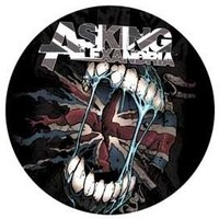 Asking Alexandria Button - Flag