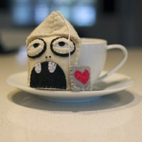 Zombie Tea Bag by SHEVON on Etsy