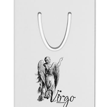 Virgo Illustration Aluminum Paper Clip Bookmark