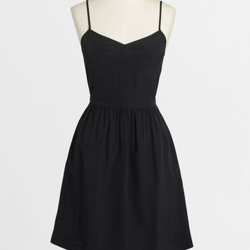 J.Crew Factory Warm Charcoal Cami Dress | zulily
