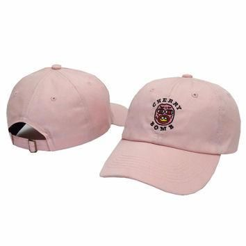 Cherry Bomb Pink Odd Future OFWGKTA Golf Wang Wolf Gang Hip Hop Snapback Sports Cap Ca