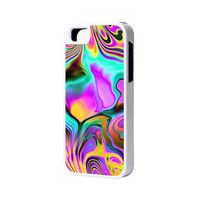 Abstract Color iPhone 6 Plus 6 5S 5 5C 4 Rubber Case