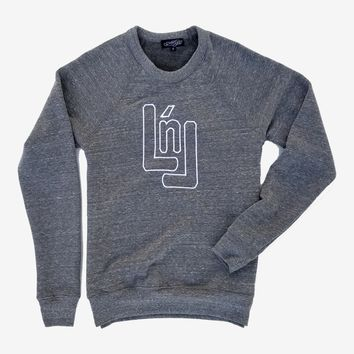 Embroidered LnL Logo Sweatshirt (Grey)