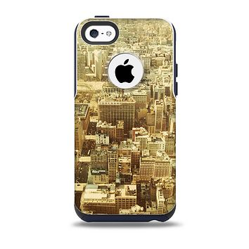 Vintage Photo of the City Skin for the iPhone 5c OtterBox Commuter Case