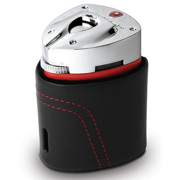 Tonino Lamborghini Mugello Red Triple Torch Flame Table Lighter