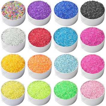 New 2MM 1000 Pcs DIY/Handmade Round Czech Crystal Glass Spacer Loose Seed Beads Jewelry Findings Jewelry making Shippin