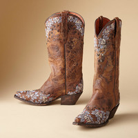 Embroidered Cowgirl Boots | Robert Redford's Sundance Catalog
