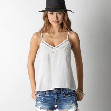 AEO V-NECK SWING CAMI