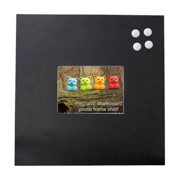 Magnetic Chalkboard Picture Frame