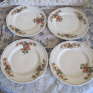Mid Century 1950s to 1960s Homer Laughlin China Salad Plates Newell Shape  / NOT INCLUDED iN SALE /New Listing