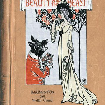 Beauty and the Beast (book cover) 20x30 poster
