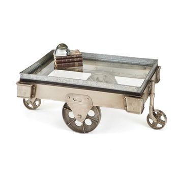 Dresden Coffee Table Cart