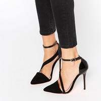 Carvela Autumn Asymmetric Strap Heeled Shoes
