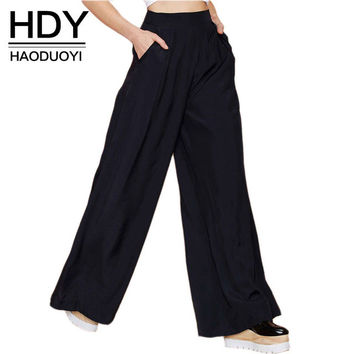 Pants HDY Bolero style in black in size S to XXL