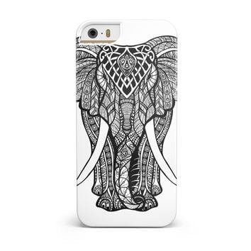 Sacred Ornate Elephant iPhone 5/5S/SE INK-Fuzed Case