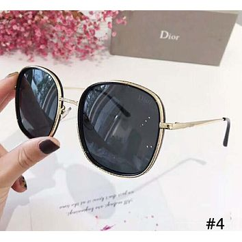 DIOR 2019 new tide brand female box color film polarized sunglasses #4