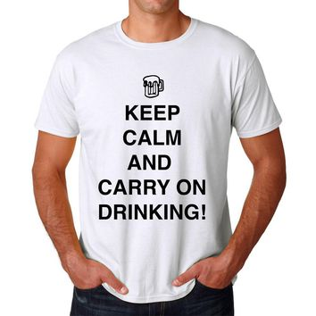Funny T-shirt Carry On Drinking