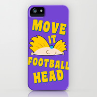 Move It Football Head! iPhone & iPod Case by LookHUMAN