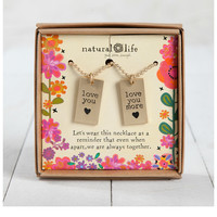 Natural Life Friendship Necklace - Love