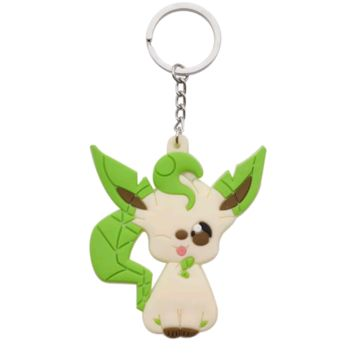 Brand New Video Game Pokemon Leafeon Keychain