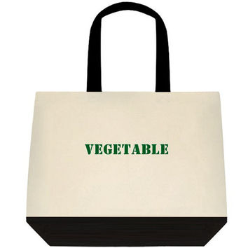 Reusable Farmers Market Grocery Tote Set Of 5, Labeled Grocery Bags, Canvas Totes