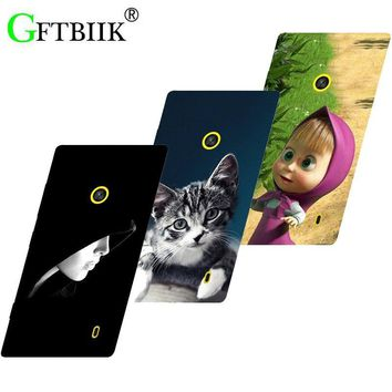 Hot Ultra Thin Back Cover For Nokia Lumia 520 525 Protective Phone Case Horse Dog Cat Handsome Tiger Fruits Cases