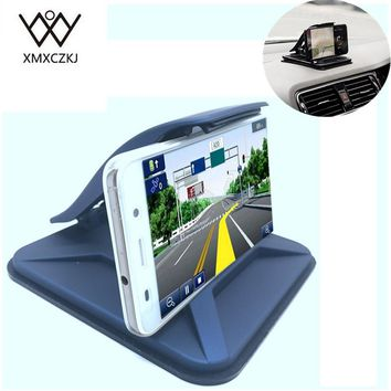 New Universal Sticky Car Holder Dashboard Desktop Mount Anti Slip mobile phone Stand For Tablet GPS With Spring Loaded Clamp