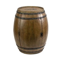 IMAX Decorative Napa Barrel Table