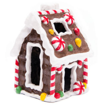 Top Fin® PetHoliday™ Gingerbread House - Decorations - Fish - PetSmart