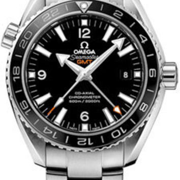 Omega - Seamaster Planet Ocean 600 M Co-Axial GMT 43.5 mm - Stainless Steel