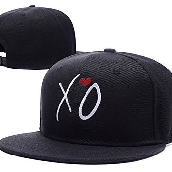 HAIHONG XO The Weeknd Adjustable Snapback Embroidery Hats Caps