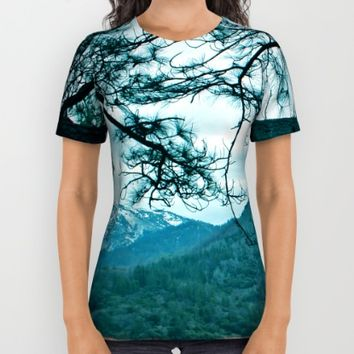 Lake Shasta Beauty All Over Print Shirt by Amy J Smith Photography