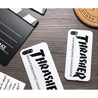 THRASHER phone case shell  for iphone 6/6s,iphone 6p/6splus,iphone 7/8,iphone 7p/8plus