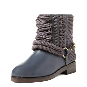 Bond Leather Rope Boot