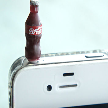 coke bottle phone plug